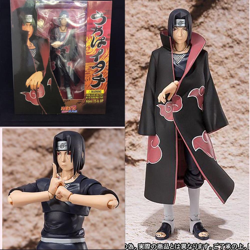Naruto Figure SH Figuarts Uchiha Itachi Figure Toy Shippuden Uchiha Itachi Action Figures Gift